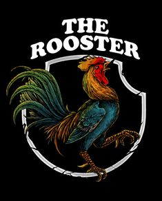 The rooster Premium Vector Rooster Painting, Rooster Art, The Rooster, Free Badges, Cute Winnie The Pooh, Tattoo Flash Art, Beach Wallpaper, Chickens And Roosters, Creative Illustration