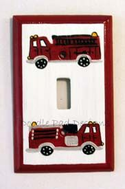 Would Be Great For A Fire Truck Kids Room