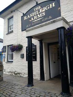The Rashleigh Arms, Charlestown, Cornwall Cornwall Coast, Cornwall England, British Pub, British Isles, Charlestown Cornwall, Cornish Pasties, Tavistock, Pubs And Restaurants, Pub Food