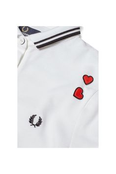 pure love! Fred Perry - Amy Winehouse Pique Shirt White