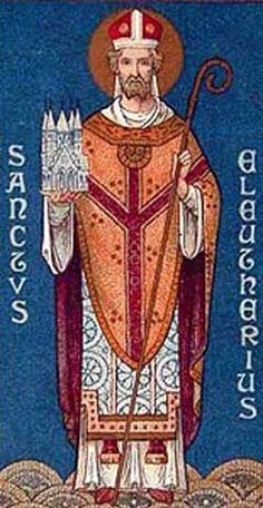 Puntadas de santos: Santoral del 6 de Septiembre San Eleuterio, Abad