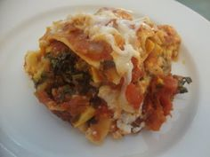 A Busy Mom's Slow Cooker Adventures: Vegetarian Lasagna