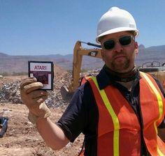 Copies of Atari E.T. Games found in New Mexico Desert