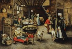 Visit to the Farm - Pieter Brueghel the Younger - The Athenaeum