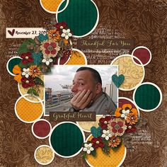 Layout using {Grateful Heart} Digital Scrapbook Kit by Jennifer Labre Designs available at Pickleberrypop https://www.pickleberrypop.com/shop/product.php?productid=47449&page=1 #jenniferlabredesigns