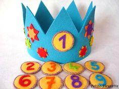 Geburtstagskrone,Sterne