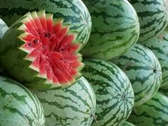 Watermelon Carving Wallpaper