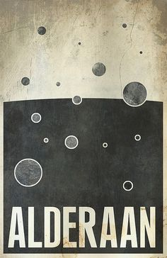Alderaan / Star Wars Planets by Justin Van Genderen (http://www.flickr.com/photos/justinvg/sets/72157624341432442/) buy here: http://www.etsy.com/shop/JustinVG