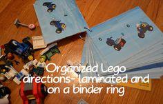 Organized Legos