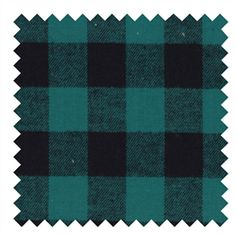 Hunter GreenBuffalo Check– Yarn Dyed Flannel Small check flannel print This flannel is yarn dyed and brushed on both sides, making it super soft and cozy! Perfect for a rag quilt, as a quilt backing to add warmth,or just hem it and use it as a mid-season cape/cover up. 58″-60″ width 100% yarn dyed cotton …