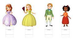 cotillones en foami de la princesa sofia - Buscar con Google