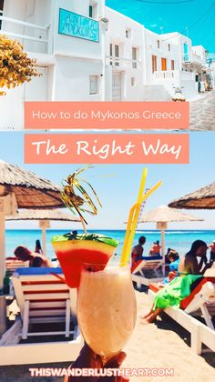 Mykonos Travel Guide – Things to Do in Mykonos Traveling to Mykonos Greece? Definitely check my list of the top 5 things to do in Mykonos. From food to beaches and partying, your trip will be an amazing one! Mykonos Greece, Crete Greece, Athens Greece, Santorini, Greece Itinerary, Greece Travel, Greece Trip, Europe Travel Guide, Travel Guides