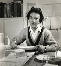 Lucienne Day (1917-2010) was a British textile designer whose vibrant printed patterns revitalised British homes during the 1950s. Her principal client was Heal's who considered & promoted her as their star. Her patterns were energetic, spidery graphic styled in the first half of the decade & more architectural & larger in scale in the late 1950s.