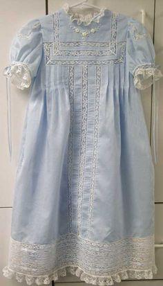 Lovely blue heirloom dress