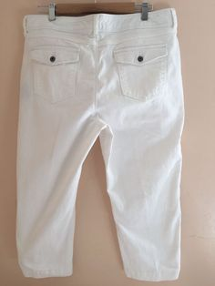 Details about Womens 12P Petite White Summer Pants LOT Of 2 ...