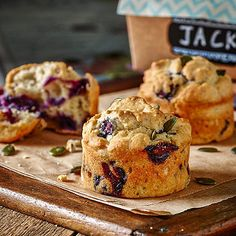 GLUTEN-FREE FRUITY MINI MUFFINS - from Lakeland