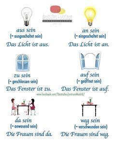 SEIN Wortschatz Grammatik German Alemán DAF Deutsch
