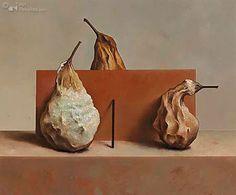 't is mooi geweest - 2002- Olieverf op paneel -22.0 x 27.0 cm by Marius van Dokkum