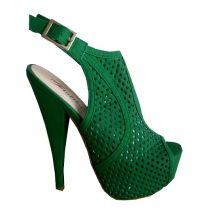 womens green sandals #highheels