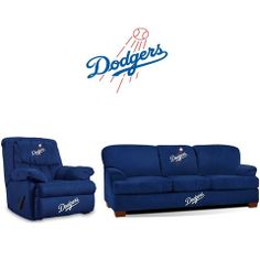 Use this Exclusive coupon code: PINFIVE to receive an additional 5% off the Los Angeles Dodgers Microfiber Furniture Set at sportsfansplus.com