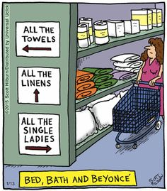 Have you visited Bed, Bath and #Beyonce lately?