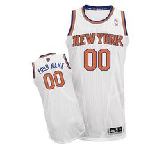 Adidas New York Knicks Custom Authentic Home Jersey Nba New York 1320669cd