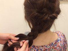 アナと雪の女王「エルサの髪型」をマネっこ!華やかヘアアレンジ術
