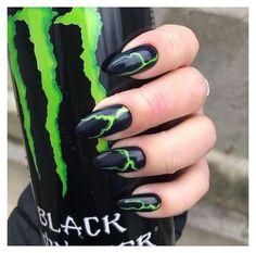 qUiRkY #aesthetic #nails #grunge #aestheticnailsgrunge #nails #nailsofinstagram #aesthetic #aestheticnails #tumblr #nailart #nailartdesigns #baddieoutfit #monsterenergy #alternative #alternativegirl #altgirl #alternativeenergy #grunge #grungeaesthetic Goth Nails, Edgy Nails, Grunge Nails, Stylish Nails, Acrylic Nails Coffin Short, Simple Acrylic Nails, Summer Acrylic Nails, Best Acrylic Nails, Unhas Monster Energy