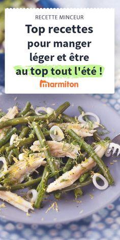 Se faire plaisir tout en surveillant sa ligne, c'est possible avec nos recettes légères en calories mais riches en goût #marmiton #selection #recette #cuisine #minceur #léger #light #calorie #salade #legume