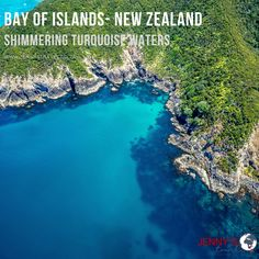 The natural beauty of the Bay of Islands is what makes it so appealing, with 150 undeveloped islands sprinkled across hidden coves awash in shimmering turquoise waters.  With only a 3 hours' drive from Auckland, you can experience this beautiful sight.  Visit our website or contact us for information on tours we offer to New Zealand or any other destination you want to visit! info@jennystravel.co.za or 012 347 8891 Bay Of Islands, Turquoise Water, Auckland, New Zealand, Natural Beauty, Tours, River, Adventure, World