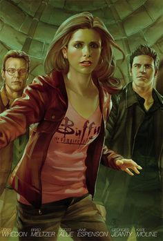 Buffy comic - love it!