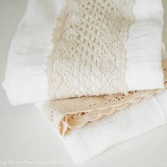 Make A Lettered Kitchen Towel: 10 Minute Decorating   Love of Home