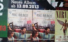 #Flächenplakatierung #Poster #Plakat Kinofilm Prince Avalance