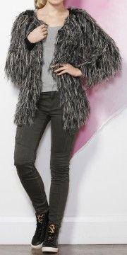 Timmy Tassel Cardi Jackets Online, Affordable Fashion, Bff, Tassel, Knitwear, Jackets For Women, Feminine, Skinny Jeans, Pants