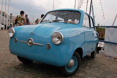 Mikrus by urloplany.pl, via Flickr, Mikrus, Polish microcar produced between 1957 - 1960 with a body built by WSK Mielec and engines by WSK Rzeszów