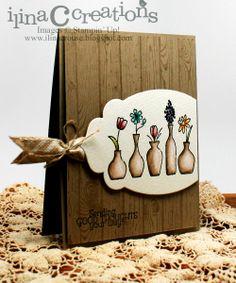 Hardwood vases- stunning!