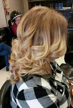 Strawberry Blonde Soft Ombre   Transitions Salon - by Taren Phillips