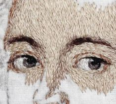 Embroidery portrait faces stitching 51 new Ideas - Stitching Projects Portrait Embroidery, Crewel Embroidery Kits, Japanese Embroidery, Embroidery Patterns, Embroidery Needles, Embroidery Supplies, Thread Painting, Sewing Art, Textile Artists