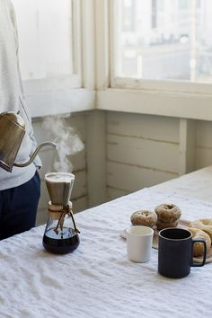 I use a french press but I want to try a Chemex. How do you brew?
