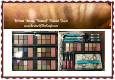 """Beauty Tuesday: Urban Decay """"Naked"""" Palette Dupe 