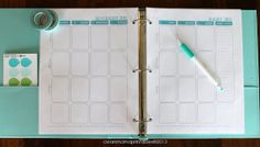 Organize your life with The Clean Mama PLANNER via CleanMamaPrintables
