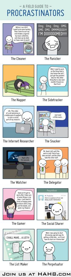 Which type of Procrastinator are You?