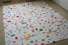 Confetti quilt blocks <3