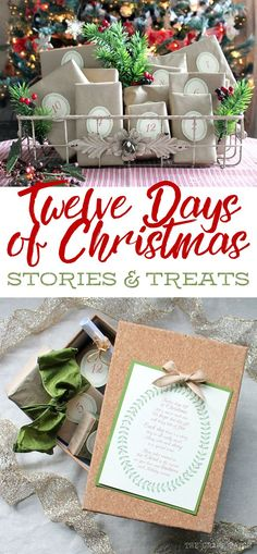 This is the cutest idea for the Twelve Days of Christmas. Every daho ho hoy there's a heartwarming story and a coordinating treat. Such a great way to remember the true meaning of Christmas and would be a really fun neighbor gift or Secret Santa gift. Christmas Countdown, Secret Santa Christmas Gifts, Secret Santa Gifts, Diy Christmas Gifts, Christmas Ideas, Christmas Neighbor, Christmas Gift Poem, Fun Secret Santa Ideas, Christmas Gifts For Neighbors
