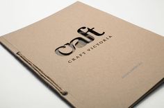 Craft Victoria by Darren Oorloff, via Behance