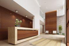 Idea Portal, Cladding Design, Modern Reception Desk, Office Furniture Design, Workplace Design, Interior Design, Architecture, House, Lobbies