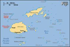 Map for Fiji - TripAdvisor