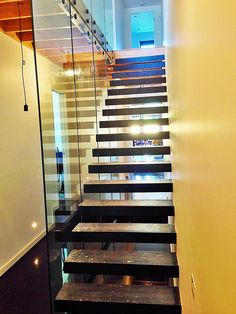 At Toughn Glass, we offer frameless glass balustrade in Melbourne for many purposes and they can be customized as per the clients need as well. What are you waiting for? Contact us today! Frameless Glass Balustrade, Glass Door, Melbourne, Stairs, Architecture, Waiting, Home Decor, Arquitetura, Stairway