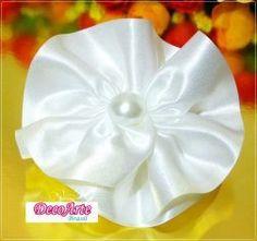 Aplique rosa  Branca brilho glitter dourado