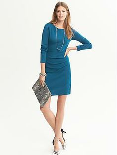 Draped Knit Dress | Banana Republic Find Fall 2013 Color Trends at #ValleyWestMall